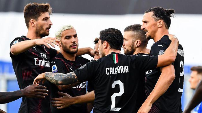 AC Milan menang 4-1 atas Sampdoria di pekan ke-37 Liga Italia