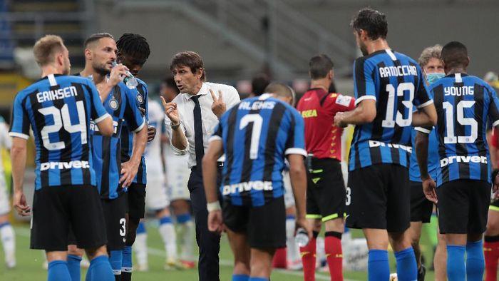 Antonio Conte menyebut Inter Milan wajib juara di Liga Europa jika mau dicatat sejarah.