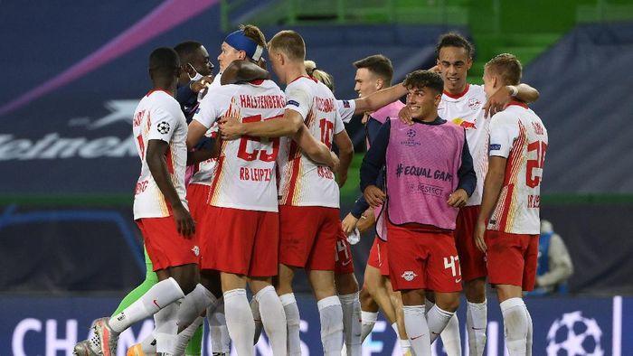 RB Leipzig melaju ke semifinal Liga Champions setelah mengalahkan Atletico Madrid.