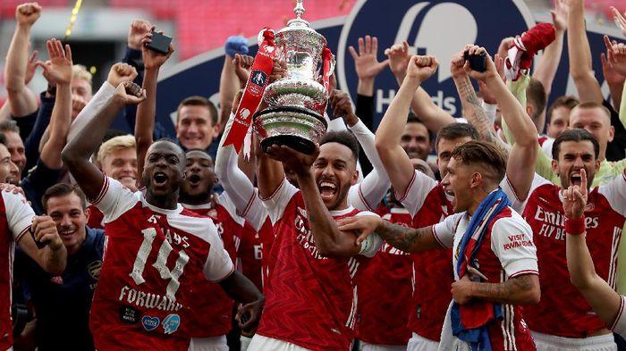 Juara Piala FA 2020/2021 akan menerima hadiah separuh dari jumlah yang diterima Arsenal di 2019/2020