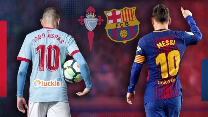 La Liga - Celta Vigo Vs Barcelona