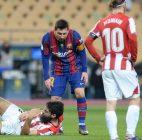 Barcelona Berupaya Batalkan Skorsing Kartu Merah Pertama Messi