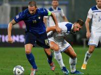 Penyesalan Mancini Usai Italia Diimbangi Bosnia di UEFA Nations League