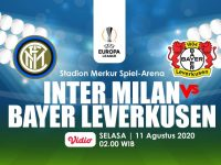 Head To Head Inter Milan Vs Bayer Leverkusen: Lama Tak Berjumpa