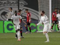 Cetak Gol Lewat Tendangan Bebas, Sergio Ramos Raih Kemenangan Ke-300 bersama Real Madrid
