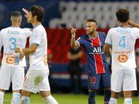 Keributan Warnai PSG Vs Marseille, Neymar Tidak Menyesal Tampar Lawan