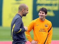 Magath: Guardiola Sukses di Barcelona Karena Messi