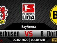 Prediksi Bola Bayer Leverkusen Vs Borussia Dortmund 09 Februari 2020