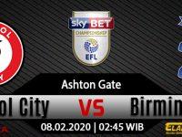 Prediksi Bristol City Vs Birmingham City 08 Februari 2020