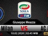 Prediksi Bola Inter Milan Vs AC Milan 10 Februari 2020