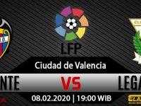 Prediksi Levante Vs Leganes 08 Februari 2020