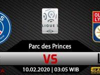 Prediksi Bola PSG Vs Lyon 10 Februari 2020