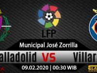 Prediksi Bola Real Valladolid Vs Villarreal 09 Februari 2020