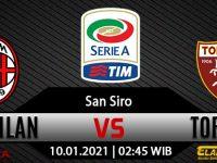 Prediksi Bola AC Milan vs Torino 10 Januari 2021