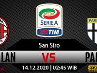 Prediksi Bola AC Milan vs Parma 14 Desember 2020