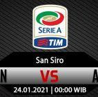 Prediksi Bola AC Milan Vs Atalanta 24 Januari 2021