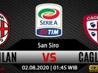 Prediksi Bola AC Milan Vs Cagliari 02 Agustus 2020