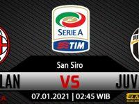 Prediksi Bola AC Milan vs Juventus 7 Januari 2021