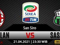 Prediksi Bola AC Milan vs Sassuolo 21 April 2021