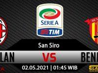 Prediksi Bola AC Milan vs Benevento 02 Mei 2021