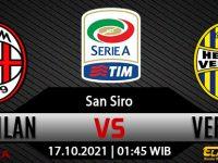 Prediksi Bola AC Milan Vs Hellas Verona 17 Oktober 2021
