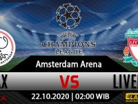 Prediksi Bola  Ajax Vs Liverpool 22 Oktober 2020