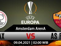 Prediksi Bola Ajax Vs AS Roma 09 April 2021