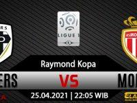 Prediksi Bola Angers vs AS Monaco 25 April 2021