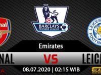 Prediksi Bola Arsenal Vs Leicester City 08 Juli 2020
