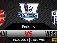 Prediksi Bola Arsenal vs West Bromwich Albion 10 Mei 2021