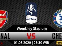 Prediksi Bola Arsenal Vs Chelsea 01 Agustus 2020