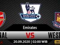 Prediksi Bola Arsenal vs West Ham United 20 September 2020