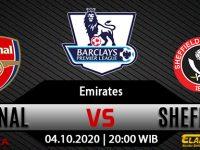 Prediksi Bola Arsenal Vs Sheffield United 4 Oktober 2020