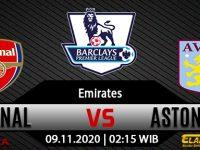 Prediksi Bola Arsenal vs Aston Villa 9 November 2020