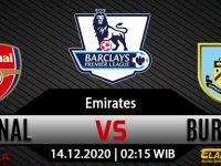 Prediksi Bola Arsenal Vs Burnley 14 Desember 2020