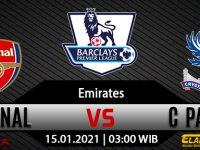 Prediksi Bola Arsenal vs Crystal Palace 15 Januari 2021