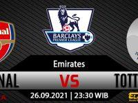 Prediksi Bola Arsenal Vs Tottenham Hotspur 26 September 2021