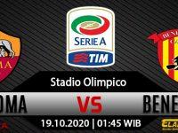 Prediksi Bola AS Roma vs Benevento 18 Oktober 2020