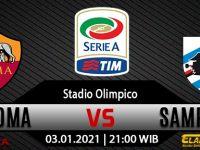 Prediksi Bola AS Roma Vs Sampdoria 03 Januari 2021