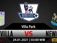 Prediksi Bola Aston Villa Vs Newcastle United 24 Januari 2021
