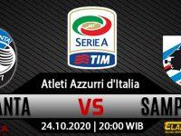 Prediksi Bola Atalanta Vs Sampdoria 24 Oktober 2020