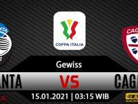 Prediksi Bola Atalanta vs Cagliari 15 Januari 2021
