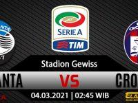 Prediksi Bola Atalanta vs Crotone 04 Maret 2021