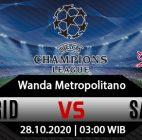 Prediksi Bola Atletico Madrid vs Salzburg 28 Oktober 2020