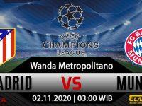 Prediksi Bola Atletico Madrid vs Bayern Munchen 2 Desember 2020
