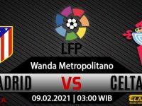 Prediksi Bola Atletico Madrid vs Celta Vigo 09 Februari 2021