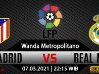 Prediksi Bola Atletico Madrid Vs Real Madrid 07 Maret 2021