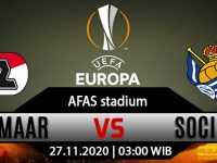 Prediksi Bola AZ Alkmaar vs Real Sociedad 27 November 2020