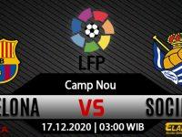 Prediksi Bola Barcelona vs Real Sociedad 17 Desember 2020