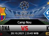 Prediksi Bola Barcelona Vs Dynamo Kiev 20 Oktober 2021